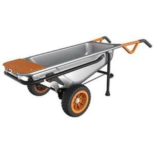 WORX Aerocart Multifunction 2-Wheeled Yard Cart