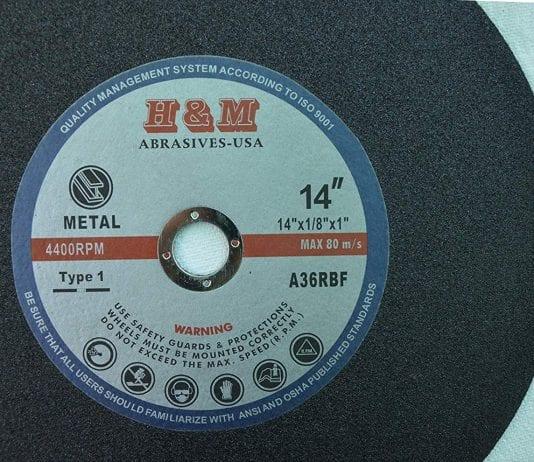 best abrasive chop saw blade