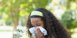 dealing with summer pollen plants