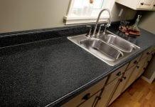 how to cut laminate countertops