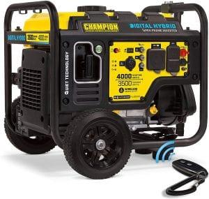 best quietest 4000 watts generator