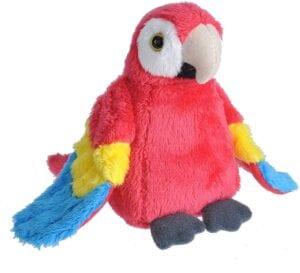 Wild Republic Macaw Plush, Stuffed Animal